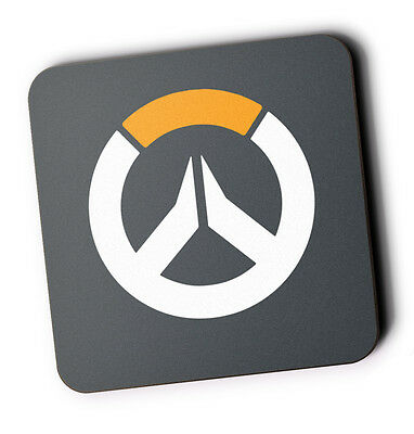 Overwatch Wood Coaster For Mugs/Cups Geeky