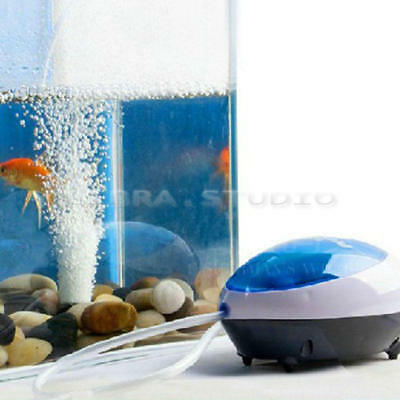 High Energy Efficient Aquarium Fish Tank Oxygen Air Pump Ultra Silent US Plug