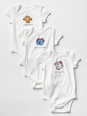 3 pack bodysuits GAP 0-3 months NEW