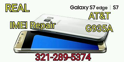 ☆☆REAL☆☆ AT&T GALAXY S7 EDGE G935A IMEI REPAIR Blacklist FIX - MAIL IN/REMOTELY