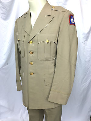 1952 US 5th Army Officers Jacket & Pants