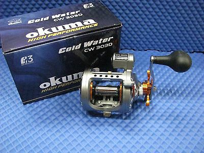 Okuma Cold Water Trolling Reel with Line Counter CW 303D