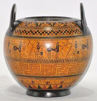 700 B.C. Vase- Ancient Greece - National Museum Of Greece Replica