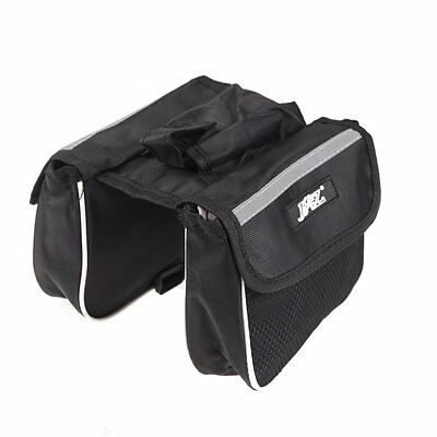 Cycling Bicycle Frame Pannier Saddle Front Tube Bag Double Outdoor Traveling S*