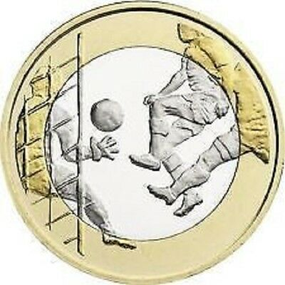 "Finland 2016 5 Euro ""voetbal"" - Unc"