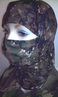 Army Hunting Millitary Multi-Function Face Mask Camo Bandanna archery neck scarf