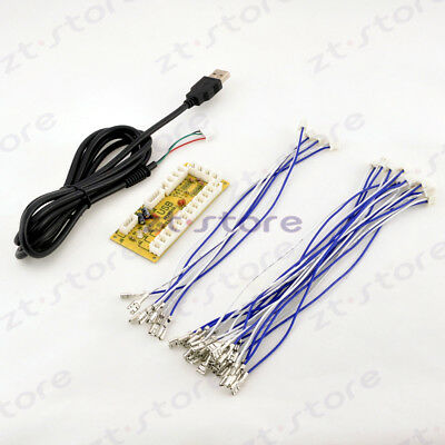 Zero delay USB Encoder to PC Joystick and Buttons For Arcade Happ diy kit Parts