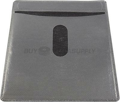 Non woven Black Color Plastic Sleeve CD/DVD Double-sided - 1000 Pack