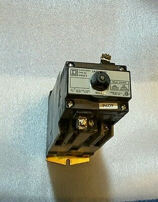 Square D Latching Relay Class 8501 TYPE XL  Ser. B