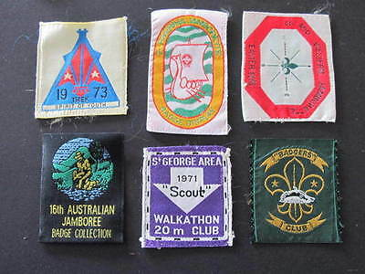 Jamboree St George Area Badgers Club Mid Western Riverina etc Scouts Badges