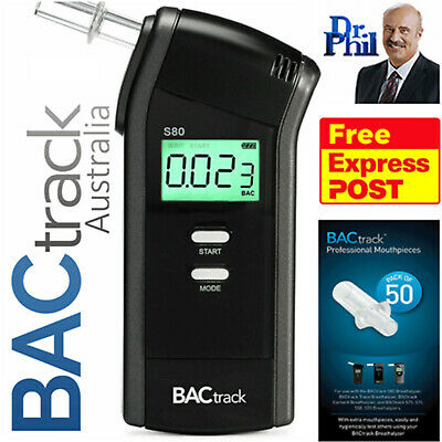 BACtrack S80 Pro (Value Bundle) - Breathalyser / Mouthpieces / FREE Shipping
