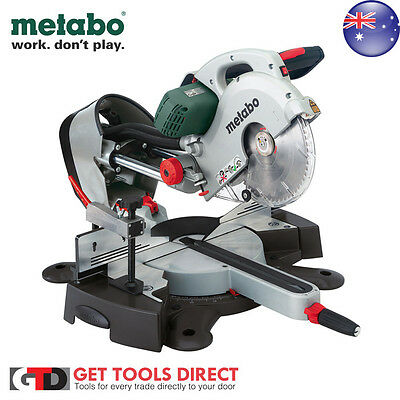 Metabo 2000W Compound Mitre Saw KGS 254 Plus