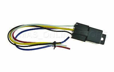 12v 12 volt 30 40a spdt 5 pin automotive relay wire socket 12v 12 volt 30 40a spdt relay w socket wire harness brand
