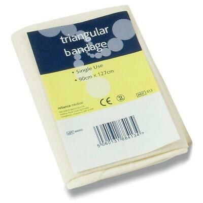6x Non Woven TRIANGULAR BANDAGE, Disposable Arm Sling, First Aid,