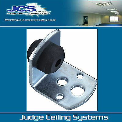 100 x 35mm Acoustic Hangers for Suspended Ceilings (inc FREE P&P) VAT Included