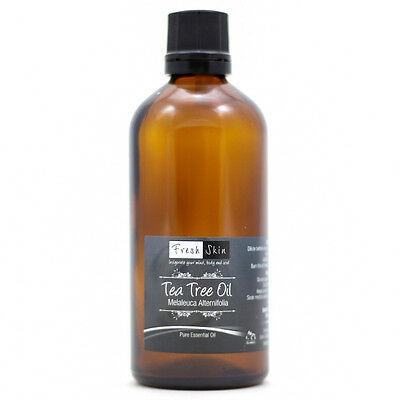 50ml TEA TREE 100% PURE ESSENTIAL OIL FROM FRESHSKIN UK