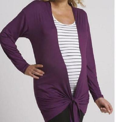 South Maternity Waterfall Cardigan WAS £23.00