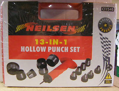13-in-1 Hollow Punch Set