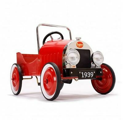 Baghera Classic Red Pedal Car - FREE Next Day Delivery Available