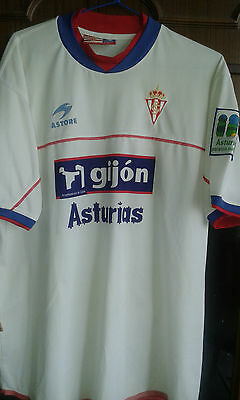 Sporting Gijon Futbol Villa XXL Football shirt camiseta