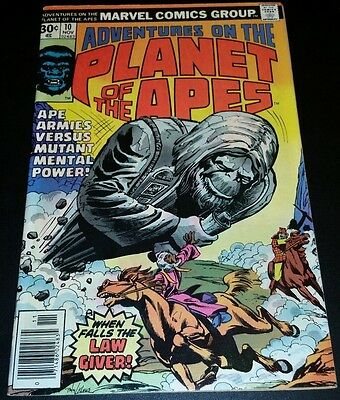 Adventures on the Planet of the Apes #10 (Nov 1976, Marvel)