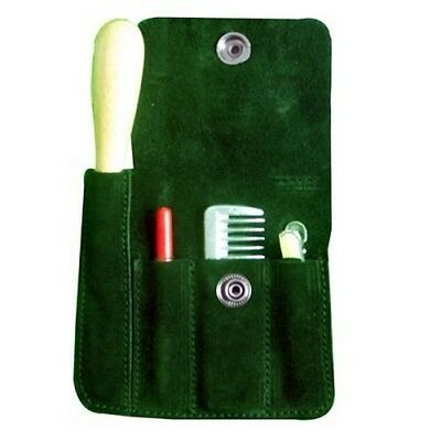 NEW Leather Braiding Kit for Horses - HUNTER GREEN by Intrepid International
