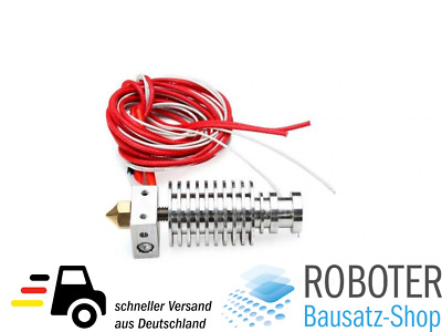Short-Distance J-Head V6 Hot End 0.3 / 1.75mm Düse 3D Drucker Extruder RepRap