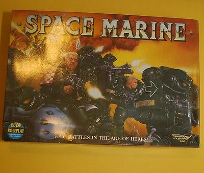 Epic 40,000 - Space Marine, 1989, Complete
