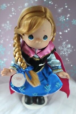 "Disney Frozen Doll Anna- Precious Moments 12"" Vinyl Doll"