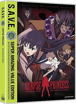 Corpse Princess . Shikabane Hime . The Complete Series . Anime . 4 DVD . NEU