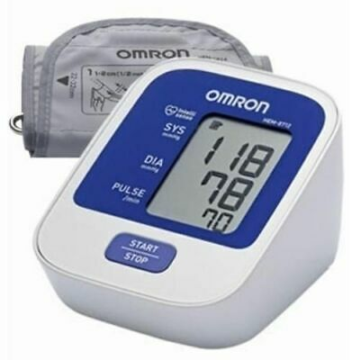 OMRON HEM-7124 Automatic Blood Pressure (BP) Monitor Upper Arm -  New