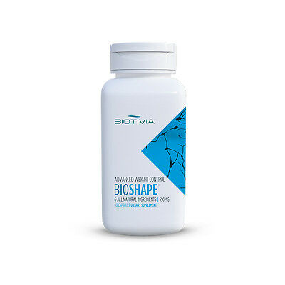 Bioshape by Biotivia:The All Natural Way To Lose Weight,6 proven natural ingr.