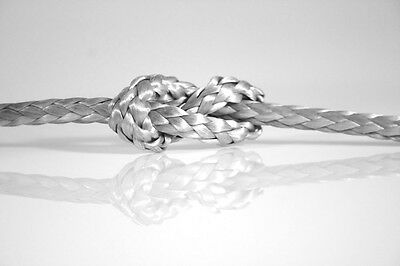Dyneema Core - Silver/Grey - Rope Sizes 1.5mm - 6mm - Dinghy/Yacht Rope