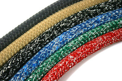 Dyneema Braid Rope- 6mm -12mm- Ideal for Halyards or Sheets - New Low Price