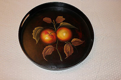 Hand Painted Lacquer Wood Serving Tray