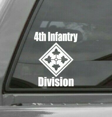 9th INFANTRY DIVISION Vinyl Window Decal Sticker U.S ARMY