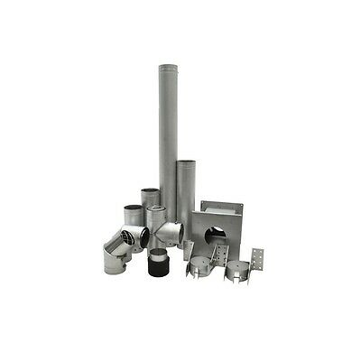 "Drolet VOPKGF03 3"" VORTEX PELLET STOVE VENT GROUND KIT ENSEMBLE D'ÉVENT GRANULES"