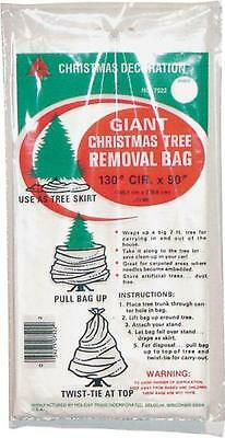GIANT CHRISTMAS TREE REMOVAL BAG NOEL GEANT SAC ENLEVEMENT DES ARBRES xmas