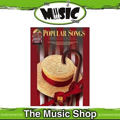 New 'Popular Songs' Sing in the Barbershop Quartet Music Book & CD - Volume 4