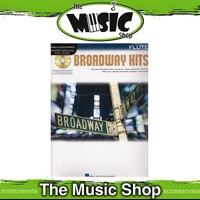 New Broadway Hits for Flute Music Book & CD