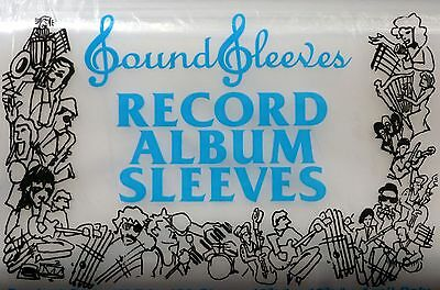 10-Pack SoundSleeves Record Album Sleeves Outer LP Sleeves - 4 mil