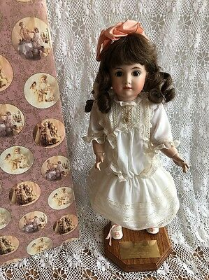 Antique Reproduction Bisque Doll KESTNER 14 Manitoba Doll Club Charity