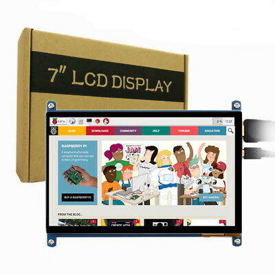 """7"""" inch 800x480 Raspberry pi 2 3 Capacitive touch screen LCD Display with cables"""