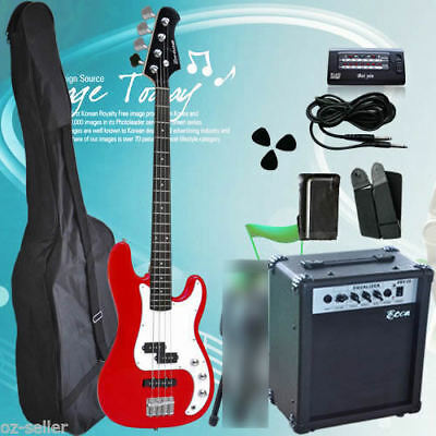 Electric Bass Guitar with 20W AMP High quality
