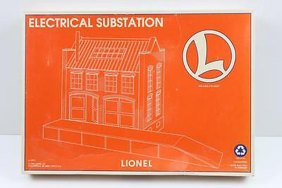 Lionel O scale electric substation model building kit new
