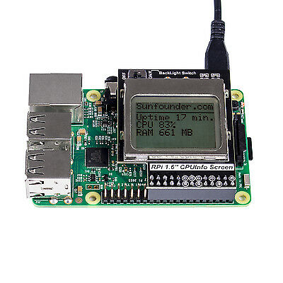 Raspberry Pi 5110 Mini LCD 84*48 PCD8544 Shield with Backlight for Model B+/B