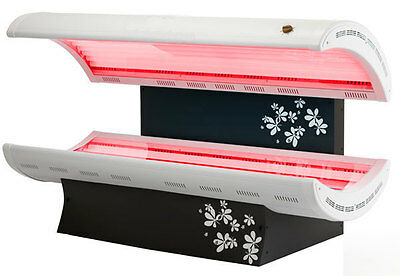 Collatan 24 Tube Sunbed Wow ! Combined Tanning And Collagen Red Light Therapy