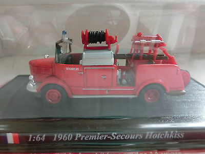 Feuerwehr Del Prado 1:64 1960 Premier-Secours Hotchkiss France (117/16)