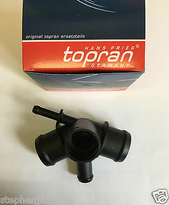 Audi A3 & Tt Coolant Water Flange Tube Distributor Pipe 108875 Topran
