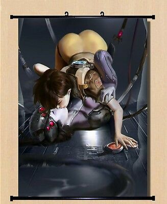 Overwatch Tracer & Widowmaker Home Decor Poster Wall OW Scroll Painting 80*60cm